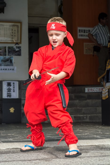 Petit A le ninja