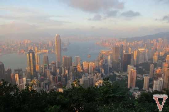 Hong Kong depuis le Peak