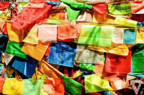 yubeng drapeau tibétain