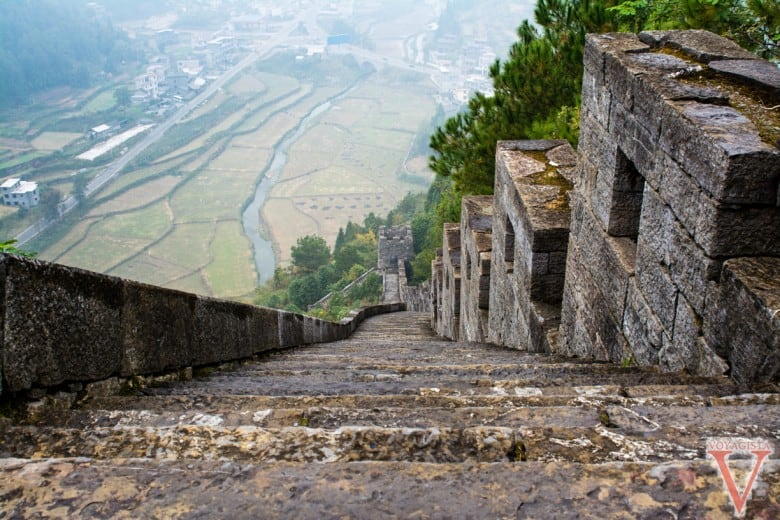 Muraille de Chine du Sud