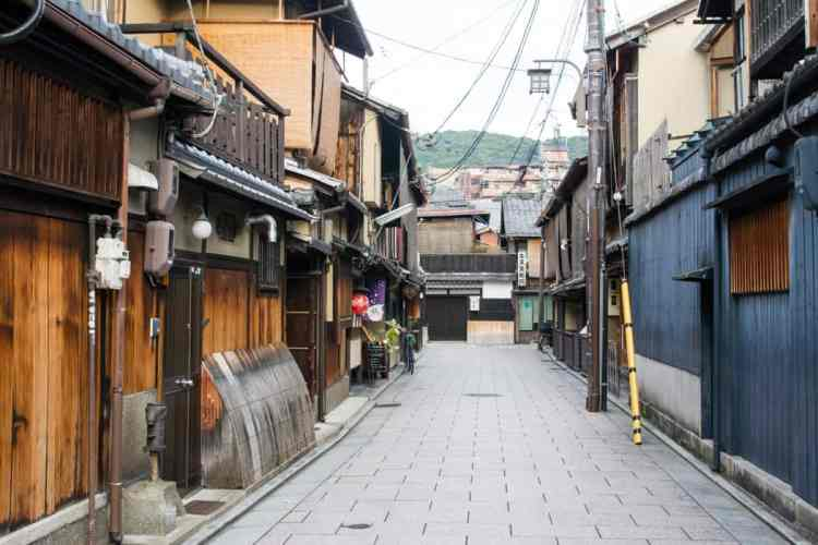 gion kyoto japon