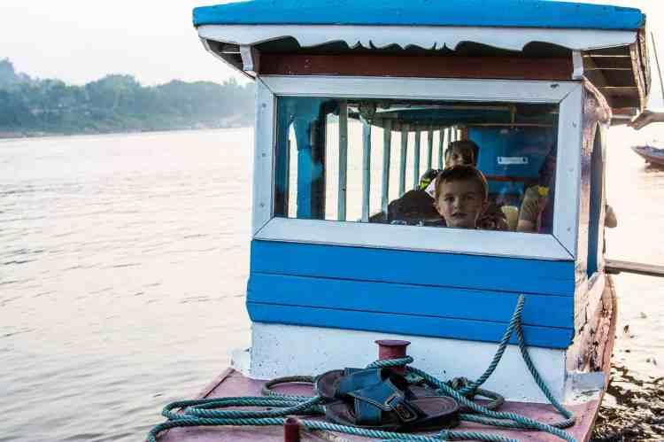 Mékong descente bateau