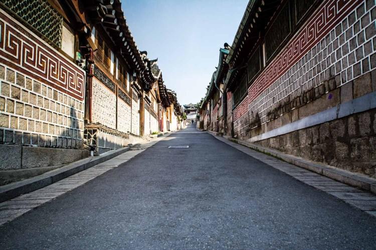 bukchon Séoul