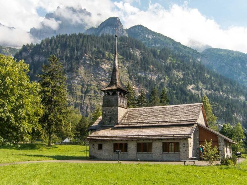 kandersteg randonnée en Suisse