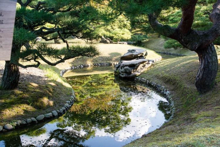 ritsurin takamatsu japon shikoku