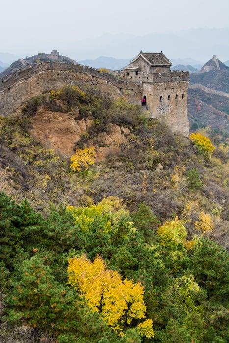muraille de Chine Jinshanling