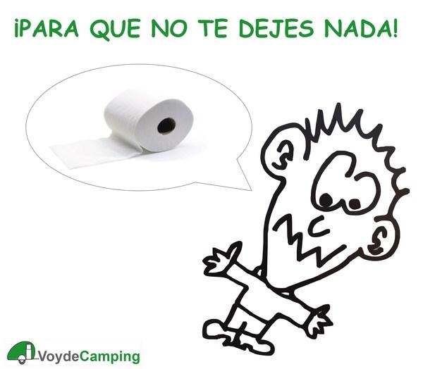 Lista de cosas que llevar a un camping