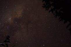 La Vía Láctea, increíblemente clara a simple vista.