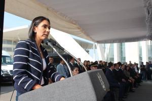 Selene Salazar agradeció al gobernador su apoyo