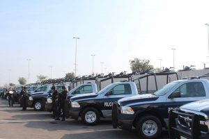 Nuevas patrullas que son entregadas por el Gobernador