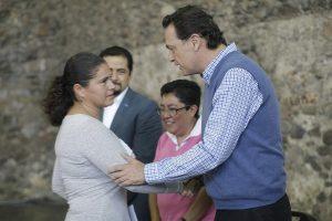 Beneficiadas agradecen apoyo a alcalde de Corregidora