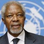 Murió Kofi Annan, ex secretario general de la ONU y Nobel de la Paz