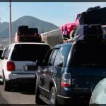 Se esperan alrededor de 700 vehículos en la caravana migrante a la Sierra Gorda