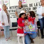 Emotivo evento en el día internacional de la lucha contra el cáncer infantil en Arroyo Seco