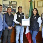 Reconocen participación de Corregidora en programa de acopio de llantas