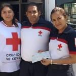 Pinal de Amoles se suma a la campaña de donación a la Cruz Roja Mexicana
