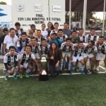 Club Purísima campeon de la Liga Municipal de Fútbol Varonil en Arroyo Seco