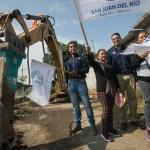 Inicia Gobierno de SJR obras para beneficio de familias de La Ladera, Galindo y San José Galindo