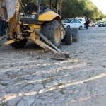 Inicia urbanización de calle en comunidad de Peñamiller