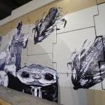Inauguran mural de arte urbano en Puente de Santa Bárbara, Corregidora
