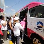 Abren tercera ruta del programa Movilidad Vecinal en Corregidora