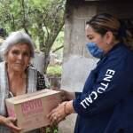 Entregan 1 mil 800 Apoyos Alimentarios a Adultos Mayores en Landa de Matamoros