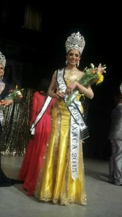 Sherline Montenegro de Oaxaca, triunfa en Miss Universo México Gay