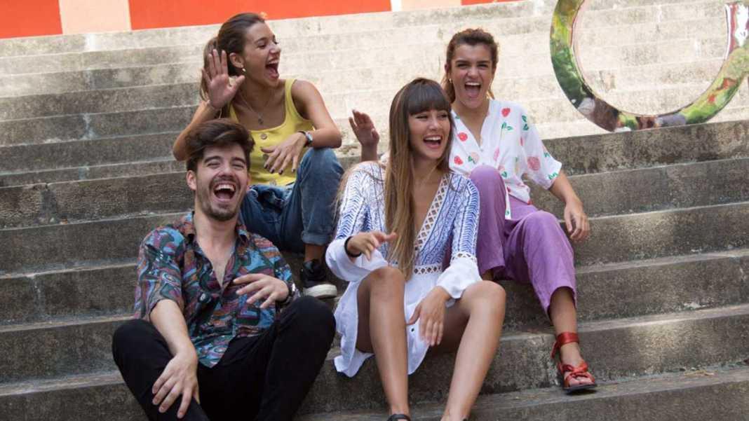 Amaia, Aitana, Roi y Ana Guerra visitan el casting final de OT 2018.