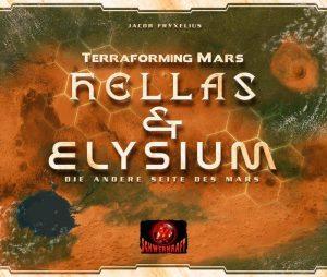 Terraforming Mars Hellas und Elysium