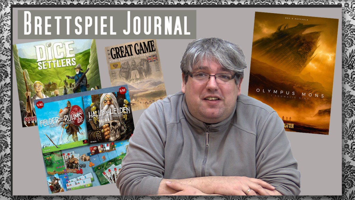 Spiele Journal 9.2.2018