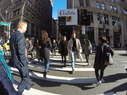 well dressed New York