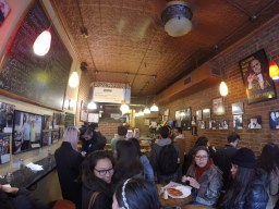 inside Prince Street Pizza