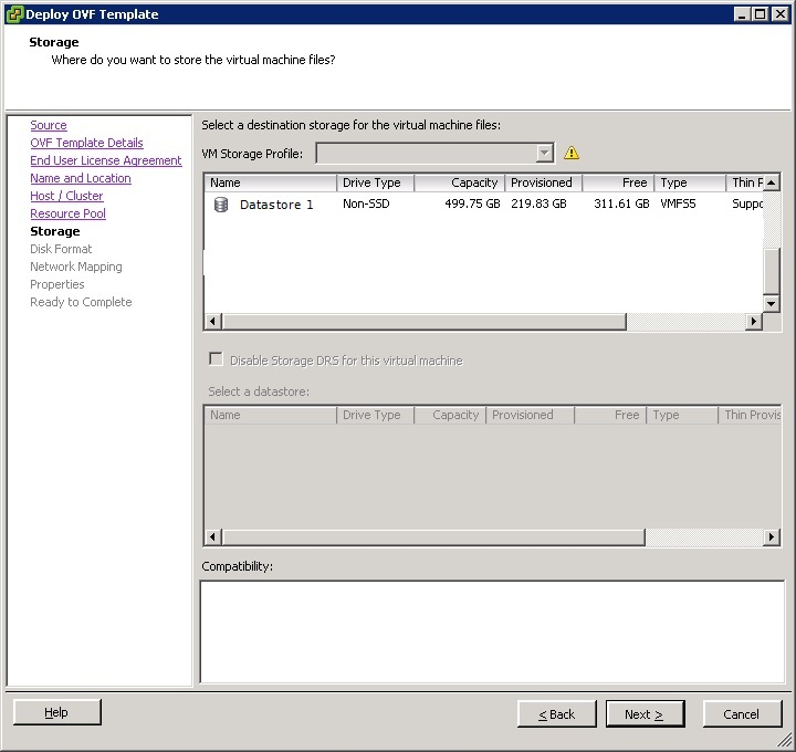 vcenter support assistant 5.5 - 9
