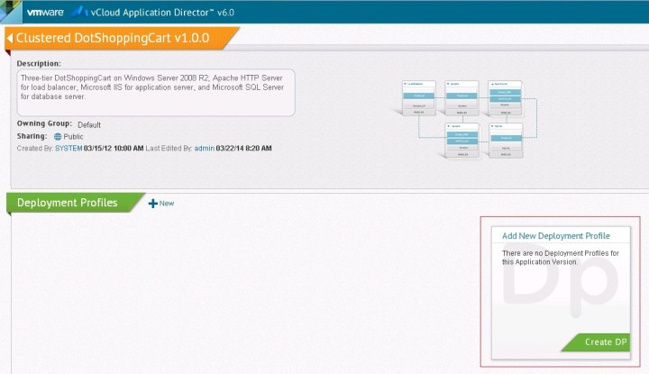 Application Director Intergration with vCAC 6.0 - Part 9 - 3