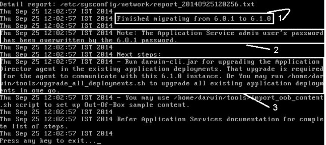 AppD migration 6.0.1 to 6.1 - 8
