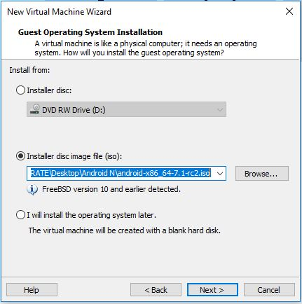 How to install Android Nougat on VMware Workstation 14 Pro - vPirate