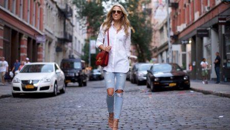 Hur man gör rippade jeans med egna händer?