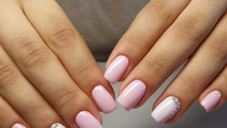 дизайн ногтей с блестками и стразами 6