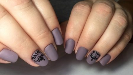 How to make a matte gel polish manicure?