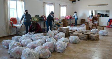 Gobierno continúa la entrega de módulos alimentarios para titulares de Red Sol