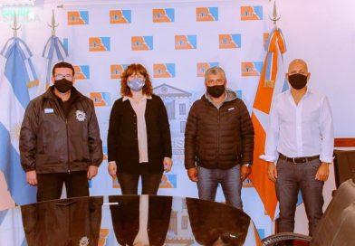 """URQUIZA: """"Junto a representantes sindicales portuarios trabajaremos en capacitaciones para potenciar el empleolocal"""""""