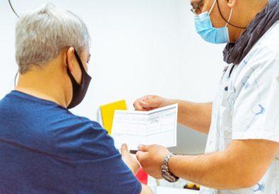 Salud vacunó contra el COVID-19 a población de Almanza