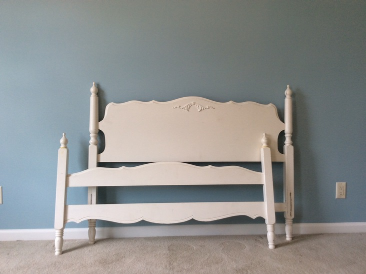 4 Post Bed Frame White