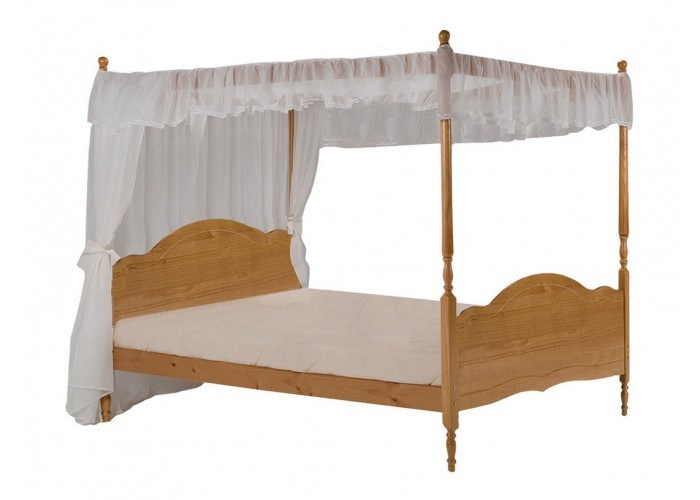 4 Poster Bed Frame Double