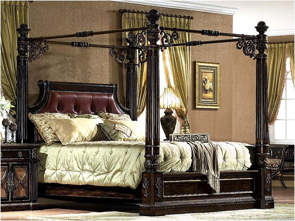 4 Poster Bed Frame King Size