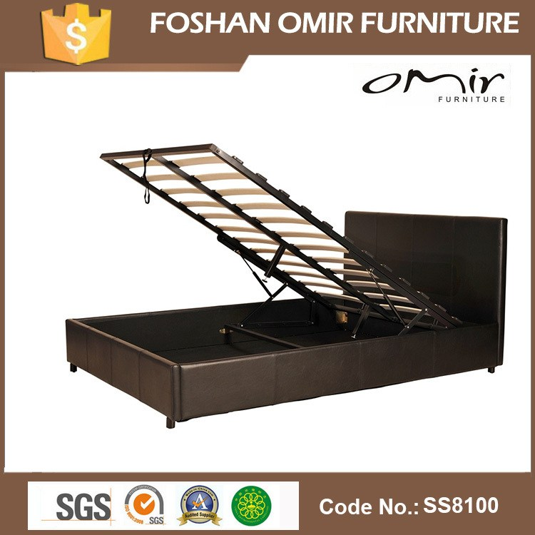 Adjustable Height Metal Bed Frame