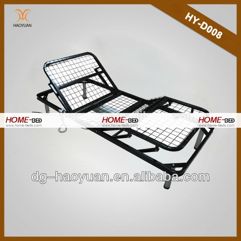 Adjustable Height Single Bed Frame