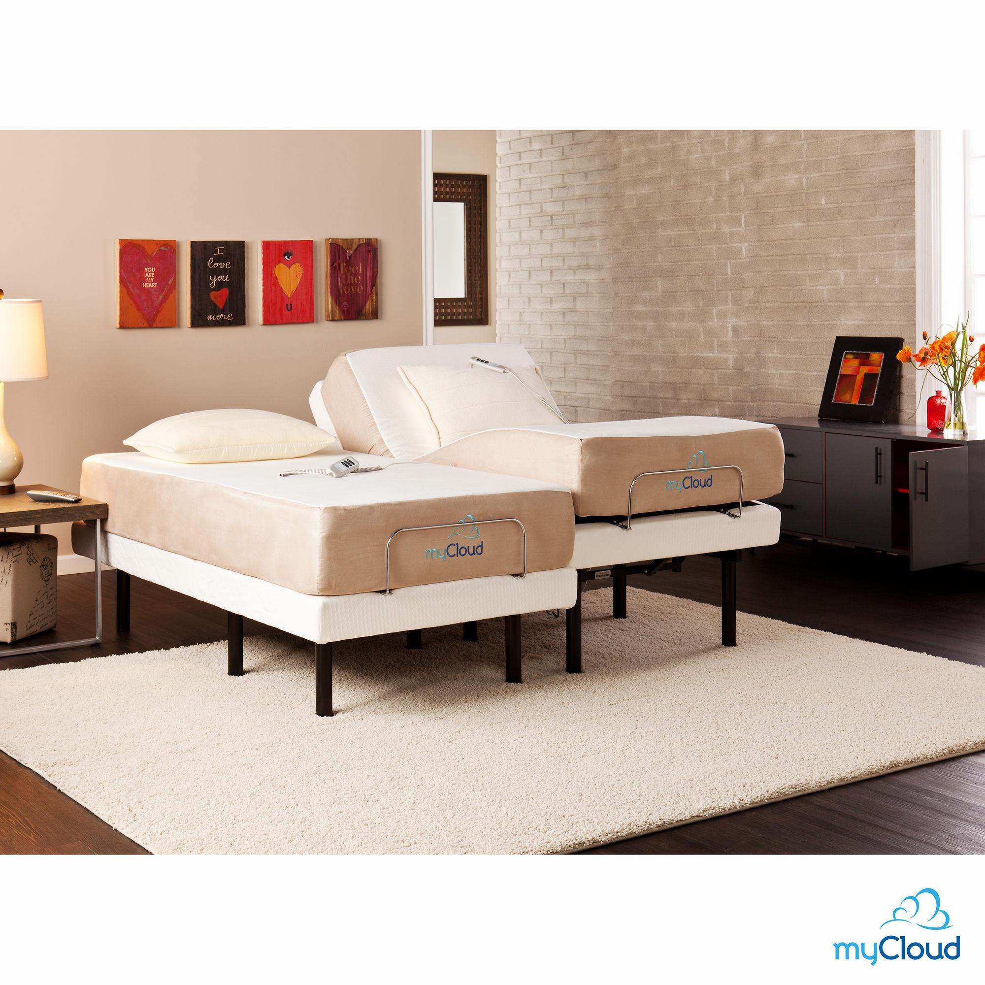 Adjustable Split King Bed Frame