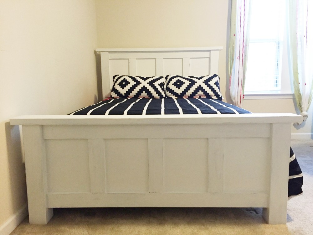 Ana White Full Size Bed Frame