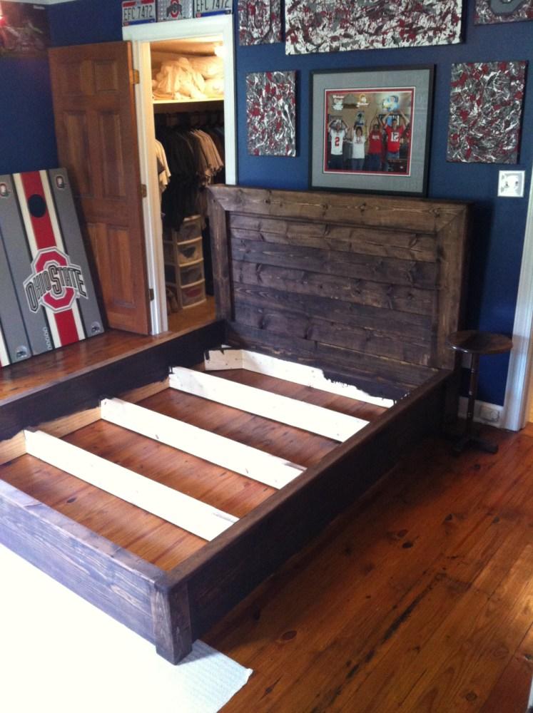 Ana White Platform Bed Frame